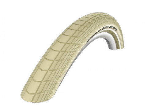 "Riepa 28"" Schwalbe Big Apple HS 430, Active Wired 50-622 Creme-Reflex"