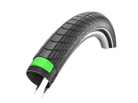 "Riepa 28"" Schwalbe Big Apple Plus HS 430, Perf Wired 50-662 Black-Reflex"