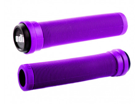 Stūres rokturi ODI Soft Longneck BMX Flangless 134mm Purple