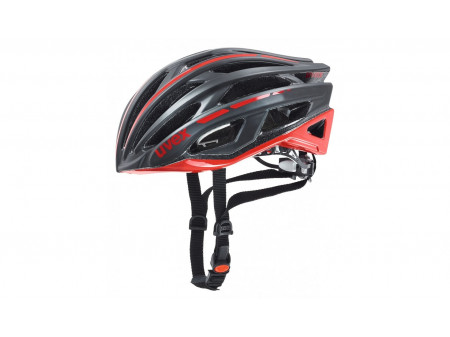 Velo ķivere Uvex Race 5 black mat-red