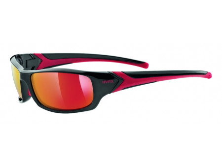 Brilles Uvex Sportstyle 211 black red