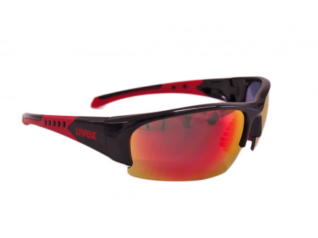 Brilles Uvex Sportstyle 217 black red