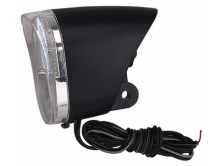 Priekšējais lukturis Azimut 0.5W 1LED dynamo fork reflector On/Off