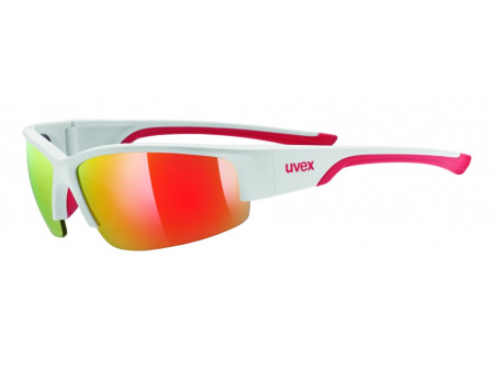 Brilles Uvex Sportstyle 215 white mat red