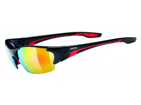 Brilles Uvex blaze lll black red