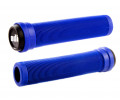 Stūres rokturi ODI Soft Longneck BMX Flangless 134mm Bright Blue