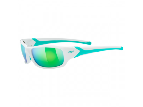 Brilles Uvex Sportstyle 211 white green