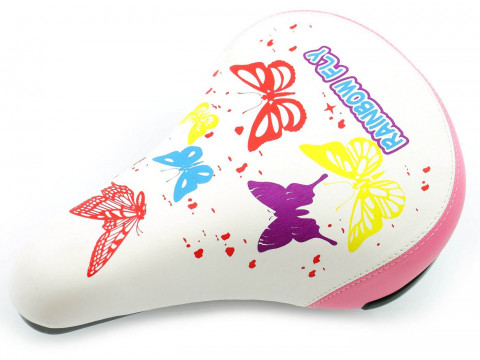 Sēdeklis Azimut KIDS Butterfly 230x155mm white-pink (1035)