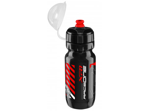 Pudele RaceOne XR1 600cc black-red with cap
