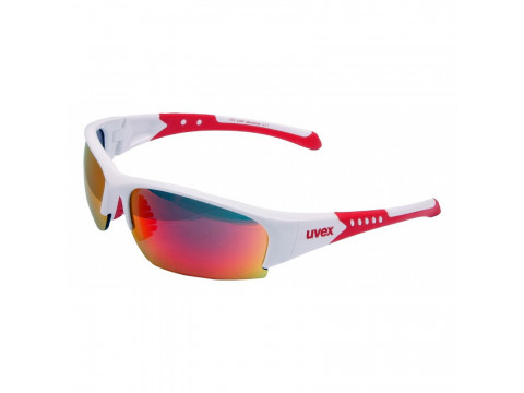 Brilles Uvex Sportstyle 217 white red