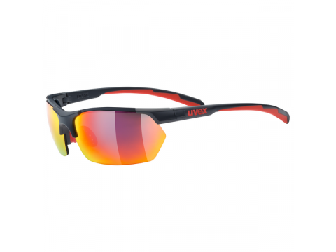 Brilles Uvex Sportstyle 114 grey red mat
