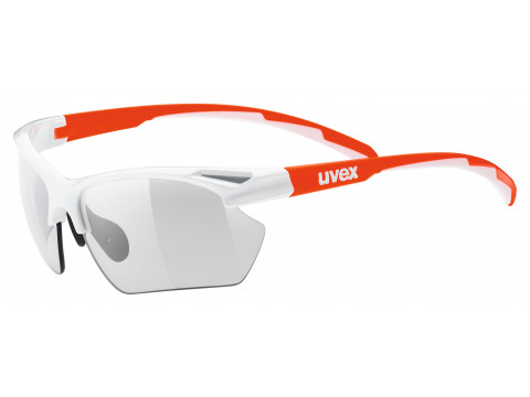 Brilles Uvex Sportstyle 802 small vario white orange