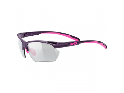 Brilles Uvex Sportstyle 802 variomatic small purple pink mat