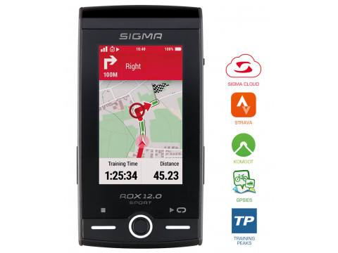 Velodators SIGMA ROX 12.0 GPS Sport SET grey