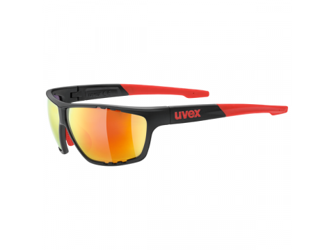 Brilles Uvex Sportstyle 706 anthracite mat red