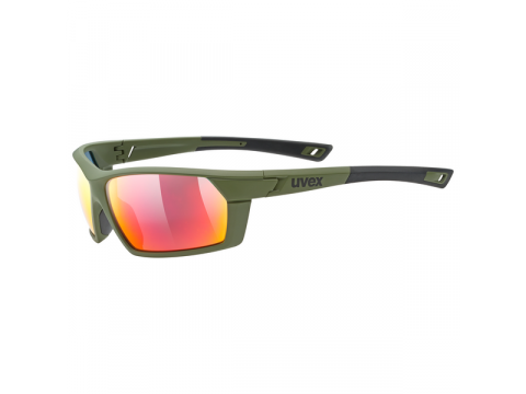 Brilles Uvex Sportstyle 225 olive green mat