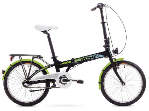 Velosipēds Romet Wigry 3 2018 black-green