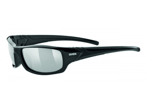 Brilles Uvex Sportstyle 211 black silver