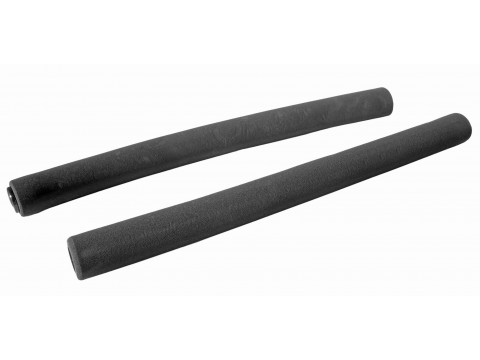 Stūres rokturi Azimut Foam Long 400mm black (1012)