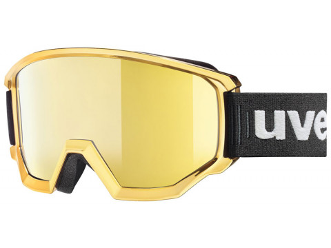 Brilles Uvex Athletic FM chrome gold