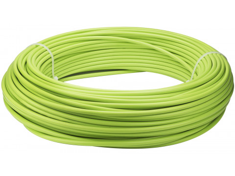 Bremzes trose apvalks Saccon Italy 5mm lubricated GREEN (1m)