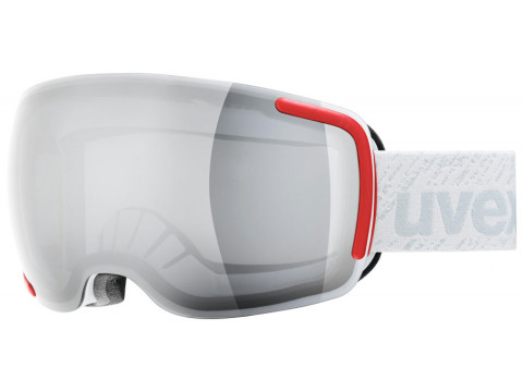 Brilles Uvex Big 40 LM white mat