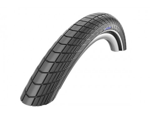 "Riepa 24"" Schwalbe Big Apple HS 430, Perf Wired 50-507 Black-Reflex"