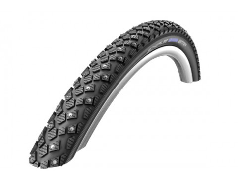 "Riepa 24"" Schwalbe Marathon Winter HS 396, Perf Wired 47-507 Black-Reflex"