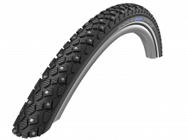 "Riepa 28"" Schwalbe Marathon Winter Plus HS 396, Perf Wired 35-622 Reflex"