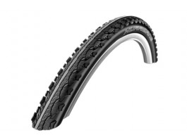 "Riepa 28"" Schwalbe Hurricane HS 352, Perf Wired 42-622 Black-Reflex"