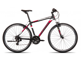 Velosipēds UNIBIKE Prime GTS 28 2019 black-red