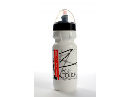 Pudele RaceOne OneTouch 600ml white-black