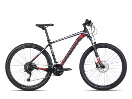 """Velosipēds UNIBIKE Fusion 27.5"""" black-red"""