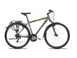 Velosipēds UNIBIKE Flash EQ GTS 28 2018 graphite-green