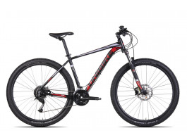 """Velosipēds UNIBIKE Fusion 29"""" black-red"""