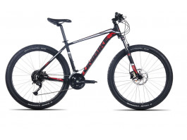 Velosipēds UNIBIKE Fusion 27.5 2020 black-red