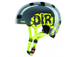 Velo ķivere Uvex Kid 3 dirtbike gray-lime