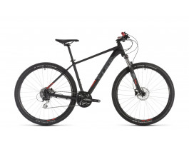 "Velosipēds Cube Aim Race 29 black""n""red 2019"