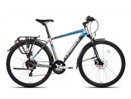 Velosipēds UNIBIKE Flash EQ GTS 28 2019 graphite-blue