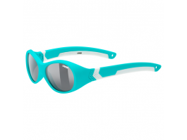 Brilles Uvex Sportstyle 510 turquoise white mat