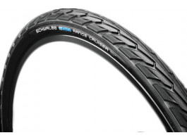 "Riepa 28"" Schwalbe Range Cruiser HS 457, Active Wired 37-622 Black"