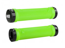 Stūres rokturi ODI Ruffian MTB Lock-On Bonus Pack Lime Greeen/Black