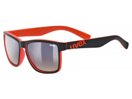 Brilles Uvex lgl 39 black mat red