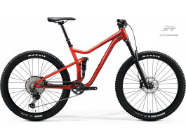 Velosipēds Merida ONE-FORTY 700 2020 glossy red