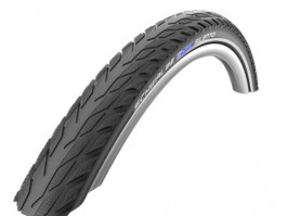 "Riepa 28"" Schwalbe Silento HS 421, Active Wired 42-622 Black-Reflex"