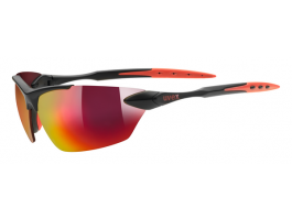 Brilles Uvex Sportstyle 203 black mat red