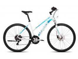 Velosipēds UNIBIKE Flash LDS 28 2019 white-blue