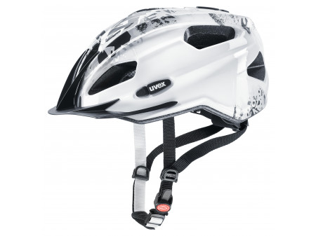 Velo ķivere Uvex Quatro Junior white-grey