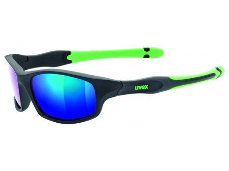 Brilles Uvex Sportstyle 507 black mat green