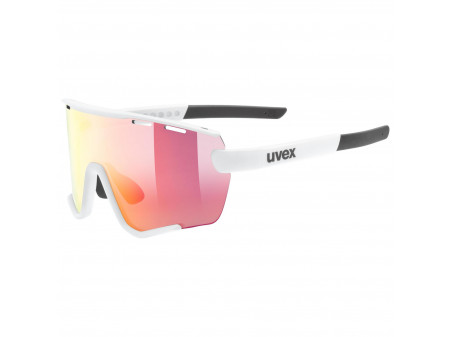 Brilles Uvex Sportstyle 236 Set small white mat / mirror red